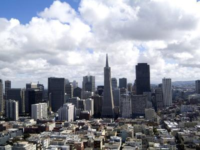 Skyline of San Francisco, California, USA