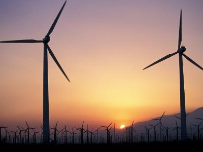 Wind Generators, Palm Springs, California, USA