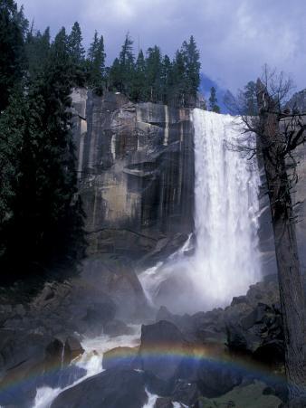 Vernal Fall, Yosemite National Park, California, USA