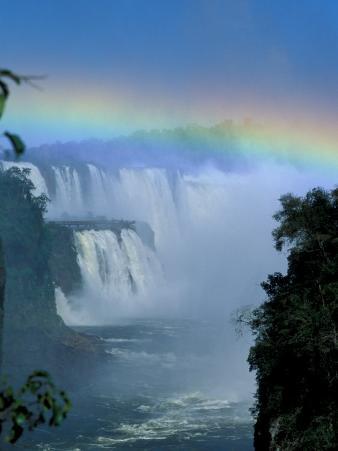 Isla San Marten, Iguacu National Park, Foz Do Iguacu, Cataratas, Argentina