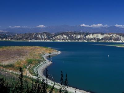 Big Bear Lake in The San Bernadino National Forest, California, USA