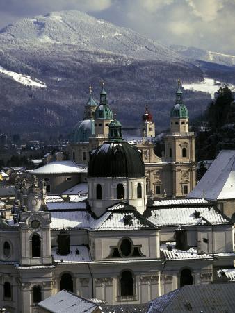 City view, Salzburg, Austria
