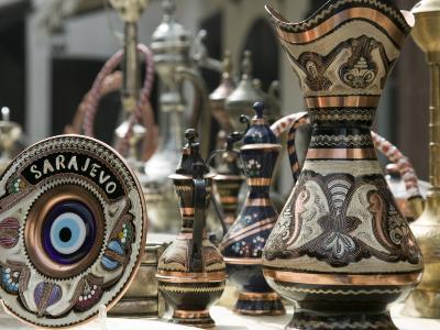 Ottoman Style Souvenirs, Bascarsija Ottoman Era, Sarajevo, Bosnia & Hercegovina
