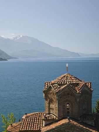 Sveti Jovan at Kaneo Church, Lake Ohrid, Macedonia