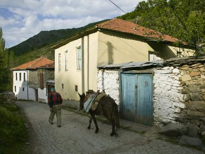 Old Vlach Mountain Village, Maloviste Village, Pelister National Park, Macedonia