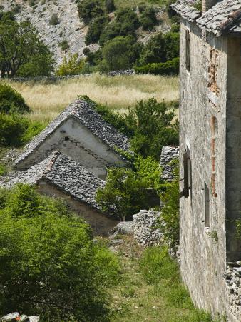 Oldest Settlement on Brac, Skrip, Brac Island, Central Dalmatia, Croatia