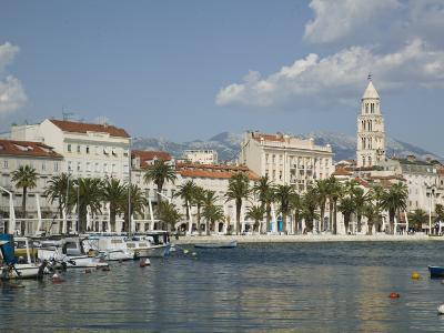 Split Harbor Late Afternoon, Central Dalmatia, Croatia