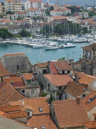 Trogir and Trogirski Channel, Central Dalmatia, Croatia