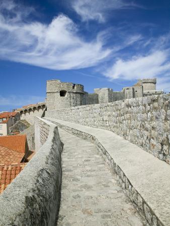 Town Walls, Dubrovnik, Croatia