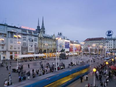 Trg Josip Jelacica Square, Zagreb, Croatia