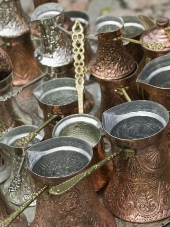 Coffee Pots, Bascarsija Ottoman Era, Sarajevo, Bosnia & Hercegovina