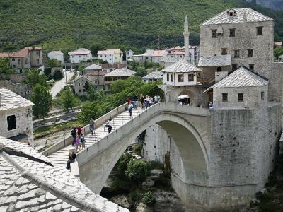 The Old Bridge Stari Most, Mostar, Bosnia-Hercegovia
