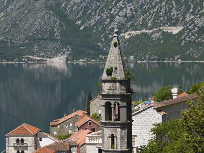 Tower of The Church of St. Nikola, Kotor Bay, Perast, Montenegro