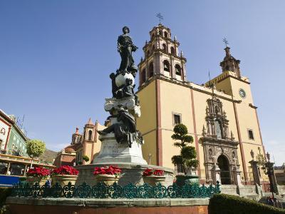Basilica Colegiata De Nuestra Senora De Guanajuato Basilica, Guanajuato, Mexico