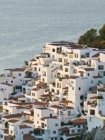 Brisas Las Hadas Resort Buildings, Manzanillo, Colima, Mexico