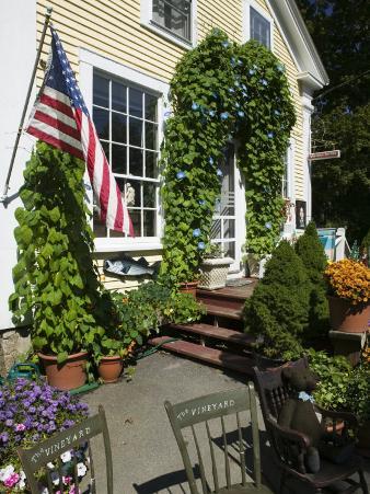 Vineyard Chairs, North Tisbury, Martha's Vineyard, Massachusetts, USA