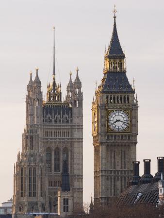 Big Ben Morning, London, England
