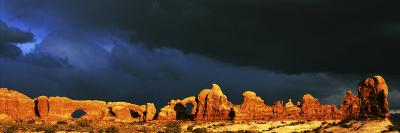 The Windows, Arches National Park, Utah, USA