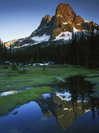 Cascades, Liberty Bell Mountain, Okanogan National Forest, Washington, USA