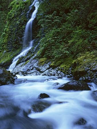 cascade, Boulder River Wilderness, Washington, USA