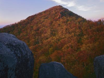 Sharp Top Mountain, Blue Ridge Parkway, Virginia, USA