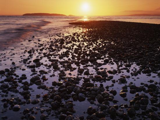 Sunrise North Beach Orcas Island Washington