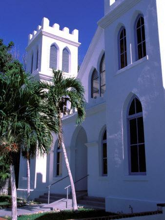 Colonial Architecture, Key West, Florida, USA