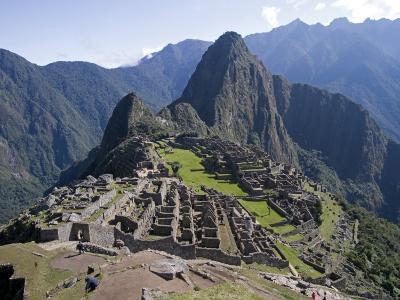 Lost Inca City of Machu Picchu, Intipunku, Peru