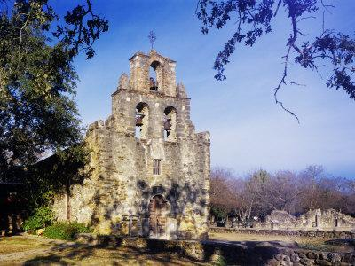 Mission Espada, Missions National Historic Park, San Antonio, Texas, USA