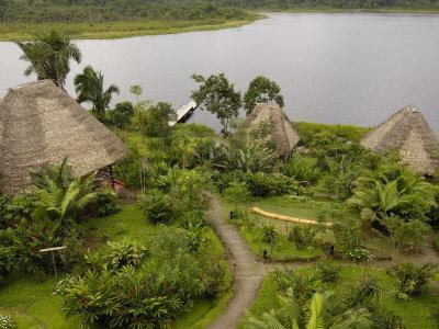 Napo Wildlife Centre Lodge, Aòangu Lake, Yasuni National Park, Ecuador