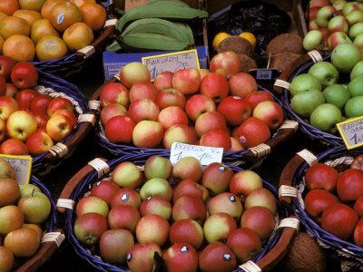 Apples For Sale, Nasch Market, Vienna, Austria