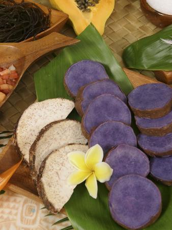 Taro, Hawaiian Luau, Hawaii, USA