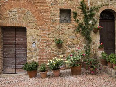 Monticchiello, Val D'Orcia, Siena Province, Tuscany, Italy