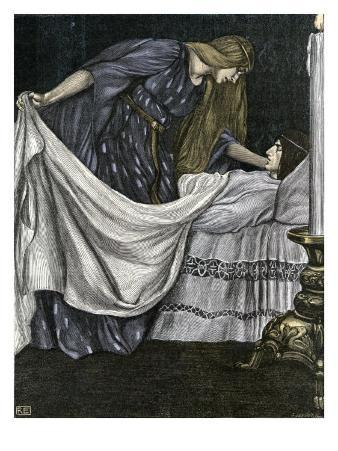 Tristan and Isolde / Iseut - Death of Tristan
