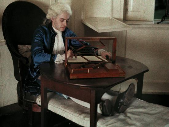 Reenacter Uses Two Of Thomas Jefferson S Inventions