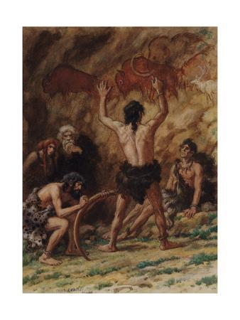 Cro-Magnon Men Produced Many Examples of Cave Drawings