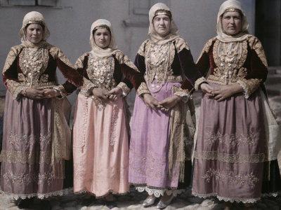 Women Dressed in Albanian Style Perform Megara's Easter Dance