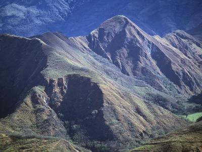 Mountain Scenery in Vilcabamba, Ecuador