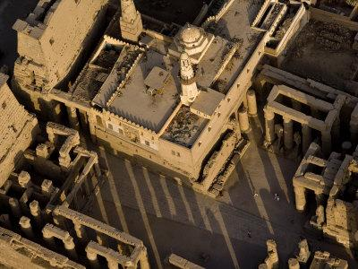 Abu Haggag Mosque Within the Ruins of Luxor Temple