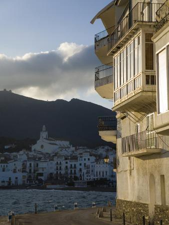 Morning at Cadaques, a Small Seaside Village