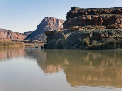 Colorado River Near Potash Downstream from Moab, Utah