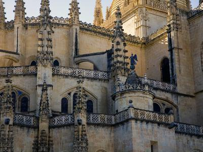 Gothic Detail on Segovia's Cathedral