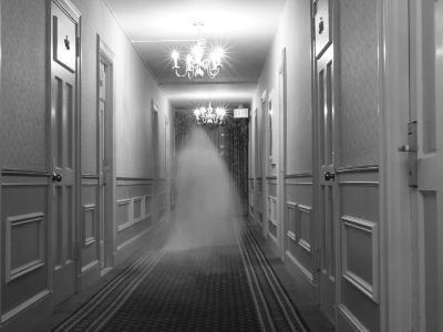 Ghost in the Hall at the Hawthorne Hotel, One of America's Most Haunted