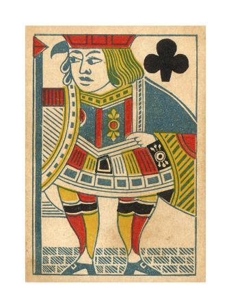 Jack of Clubs Card