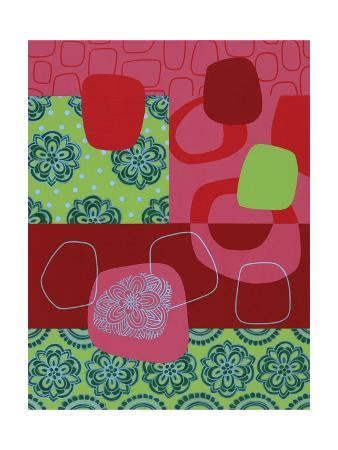 Floral and Abstract Geometric
