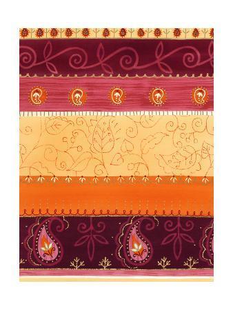 Paisley and Swirl Pattern