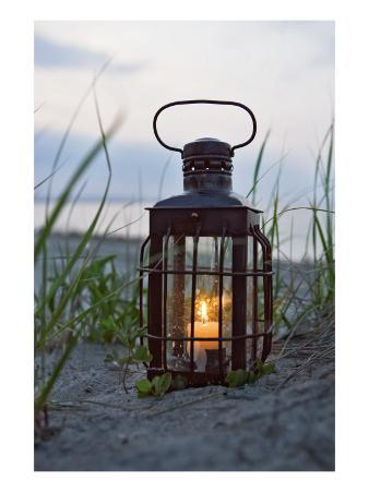 Lantern on Beach