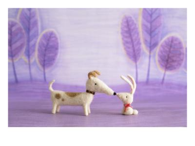 Bunny and Dog Toy