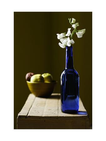 Blue Bottle Still Life