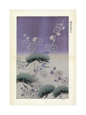 Flowers on Misty Lavender